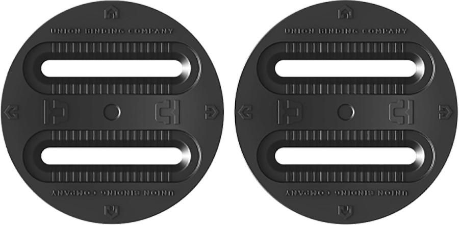 Union Snowboard Binding Standard 4 Hole & 3 Hole Conversion Disc, 97mm