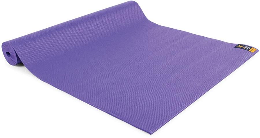 Yoga Mad Warrior II Yoga/Pilates Mat, 4mm Purple