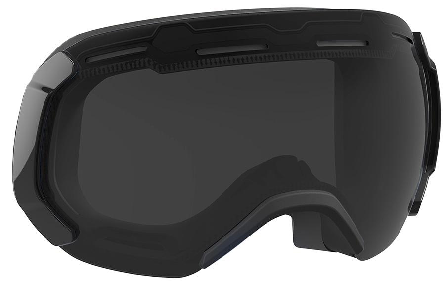 Bern Monroe Ski/Snowboard Goggles Spare Lens, One Size, Grey