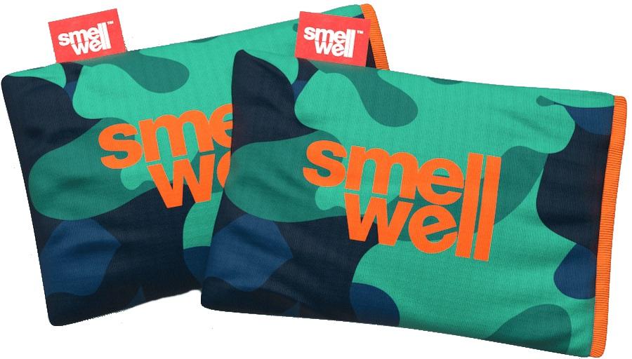 SmellWell Active Freshener Inserts Odour Eliminator, Camo Green