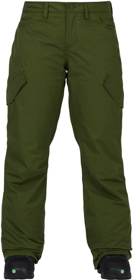 Burton Fly Pants Women's Ski/Snowboard Trousers, S Rifle Green