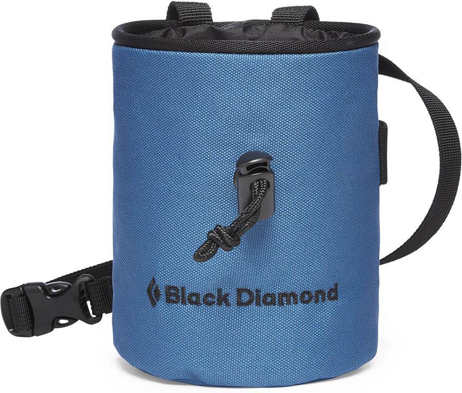 Black Diamond Mojo Rock Climbing Chalk Bag, S/M Astral Blue