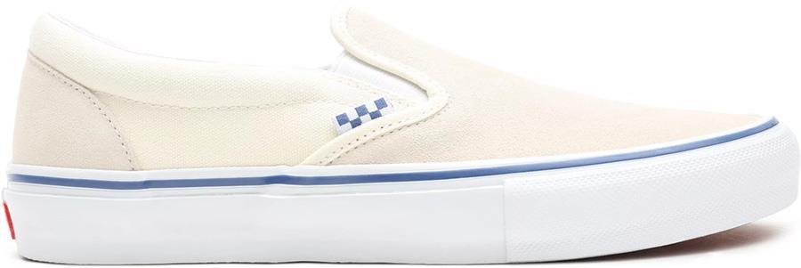 Vans Skate Slip-On Trainers/Shoes, UK 7 Off White