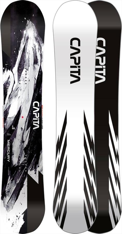 Capita Mercury Hybrid Camber Snowboard, 155cm 2021