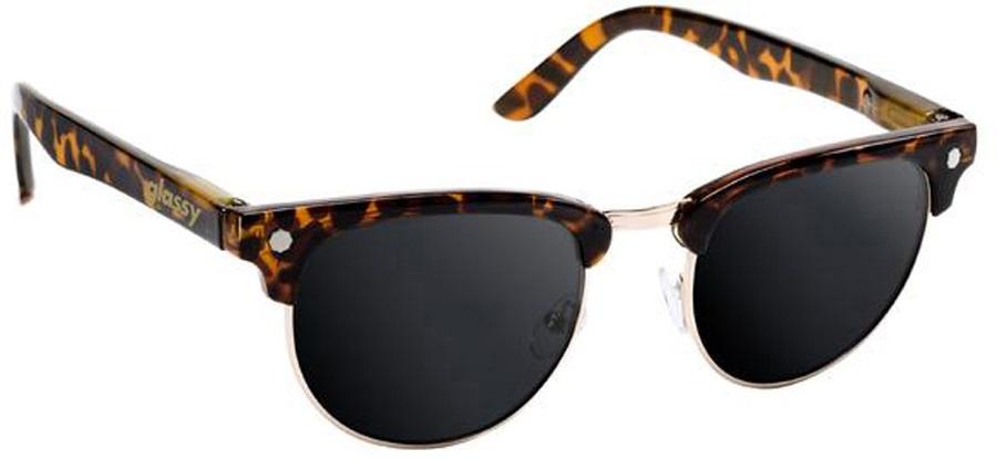 Glassy Sunhaters Morrison Sunglasses Tortoise Grey Lens