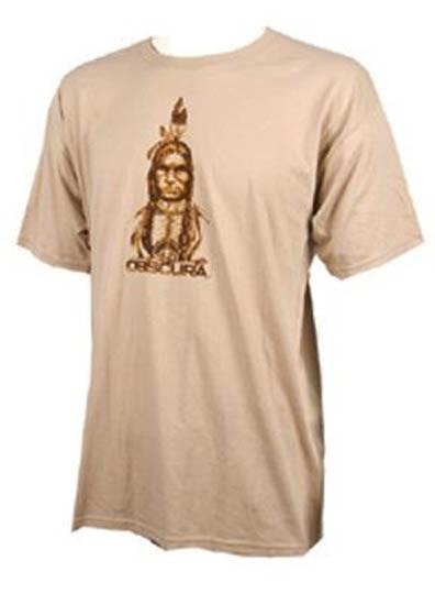 Liquid Force Obscura Indian T Shirt L Beige Brown