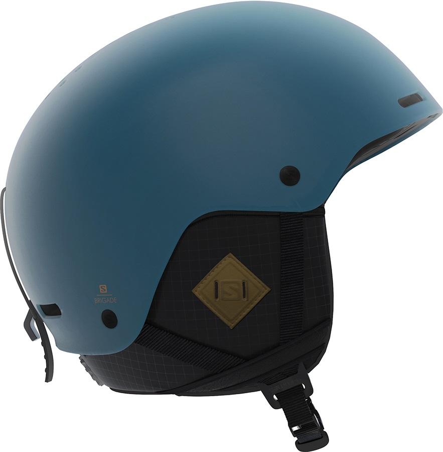 Salomon Adult Unisex Brigade+ Snowboard/Ski Helmet, S Moroccan Blue