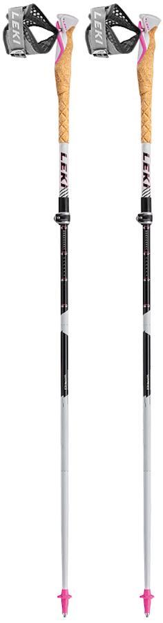 Leki MCT Vario TA Women's Compact Folding Trekking Poles, 100-120cm