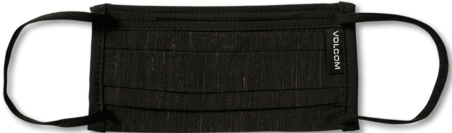 Volcom Assorted Kid's Protective Reusable Face Mask, Black On Black