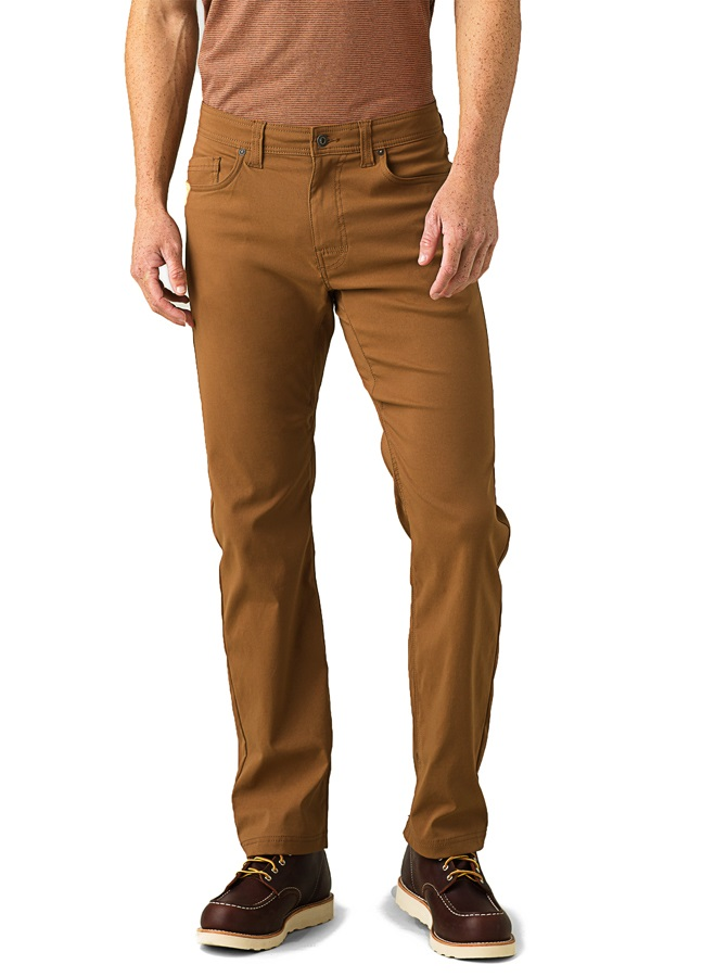 Prana Adult Unisex Brion Regular Men's Rock Climbing Trousers, S Sepia