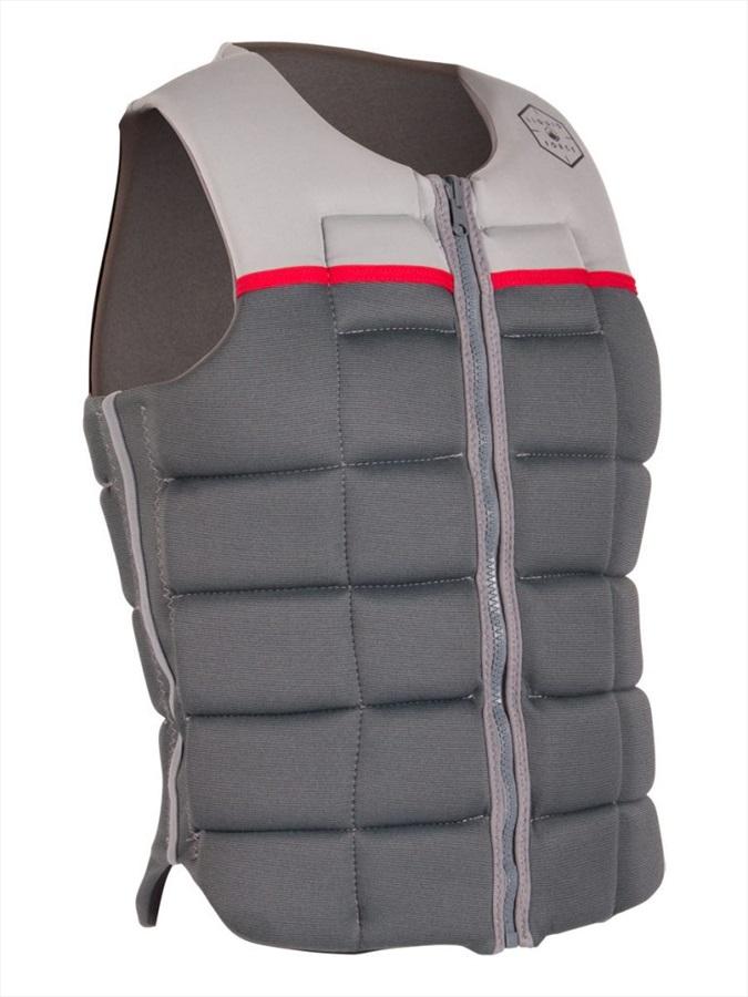 Liquid Force Flex Wakeboard Impact Vest, XL Silver Grey 2020