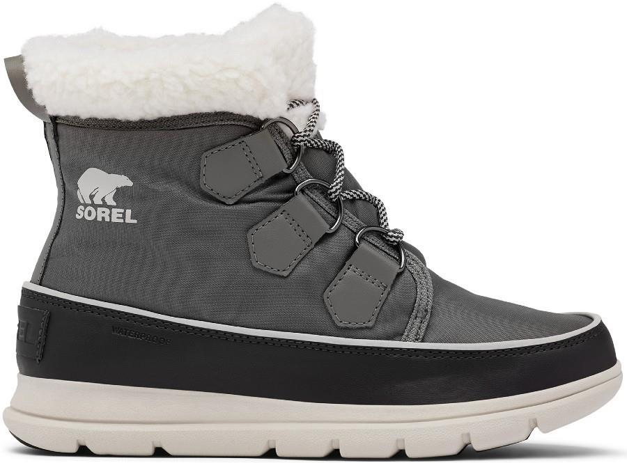 Sorel Womens Explorer Carnival Women's Snow Boots, Uk 4 Quarry
