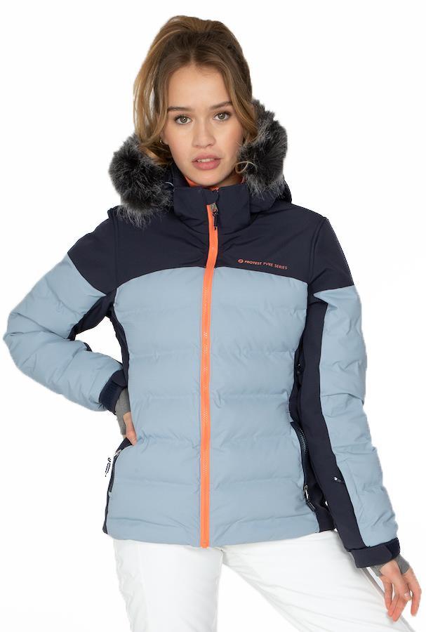 Protest Blackbird Women's Ski/Snowboard Jacket M / UK 10 Space Blue