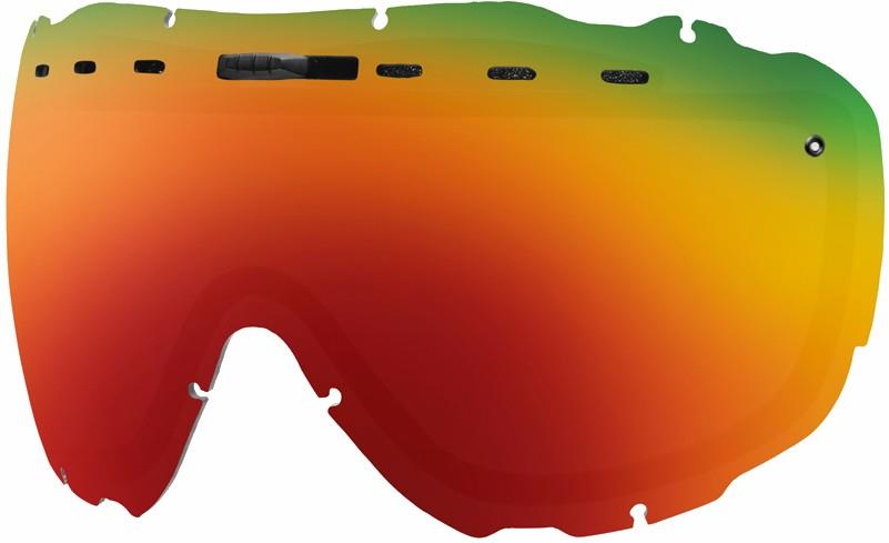 Smith Prophecy Snowboard/Ski Goggle Spare Lens One Size Red Sol-X