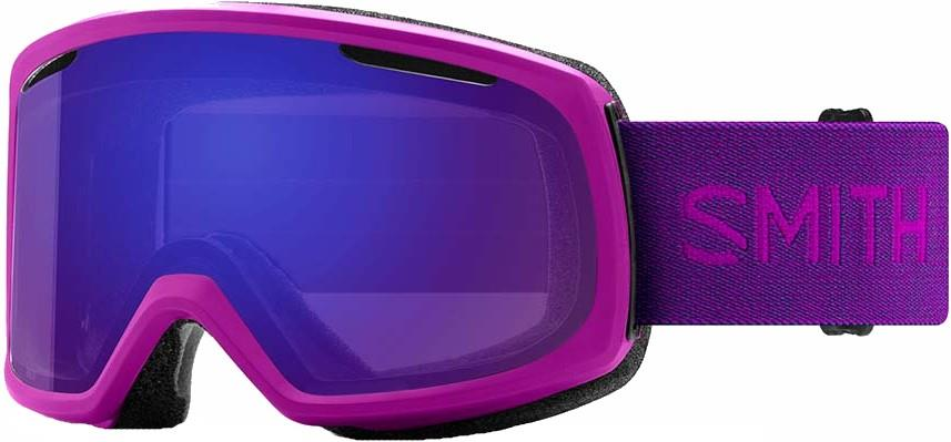 Smith Riot CP Everyday Violet Women's Snowboard/Ski Goggles, M Fuchsia