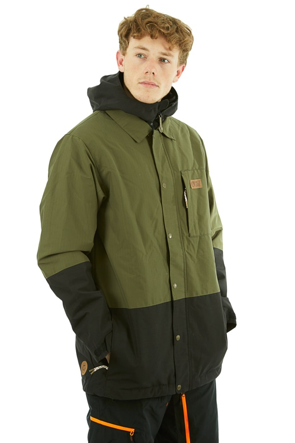 Picture Paragon Ski/Snowboard Jacket, L Dark Army Green
