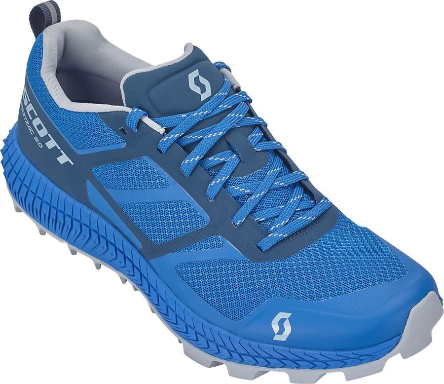 Scott Supertrac 2.0 Trail Running Shoes, UK 9.5 Blue/Dark Blue