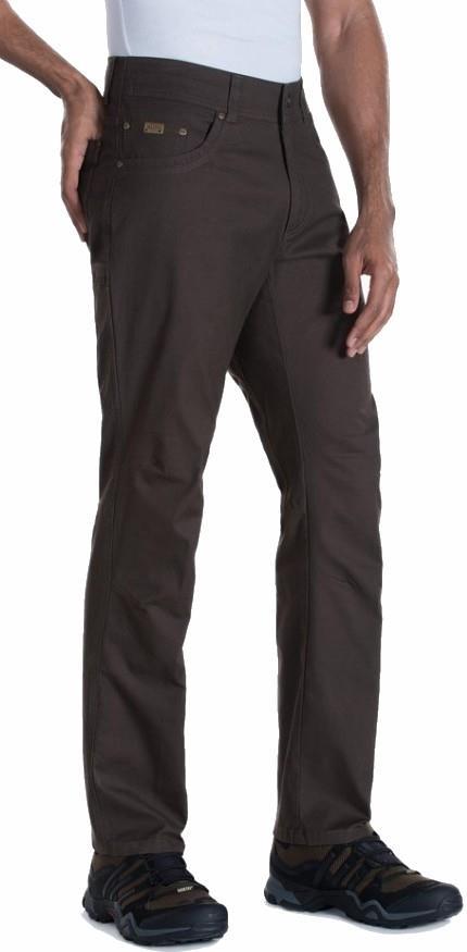 Kuhl Kanvus Jeans Regular Climbing Trousers, 34/32 Wood Grain