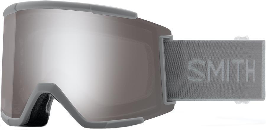 Smith Squad XL CP Sun Platinum Snowboard/Ski Goggles M/L Cloudgrey