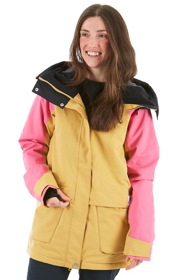 Wearcolour Blaze Women's Snowboard/Ski Jacket, M Sand