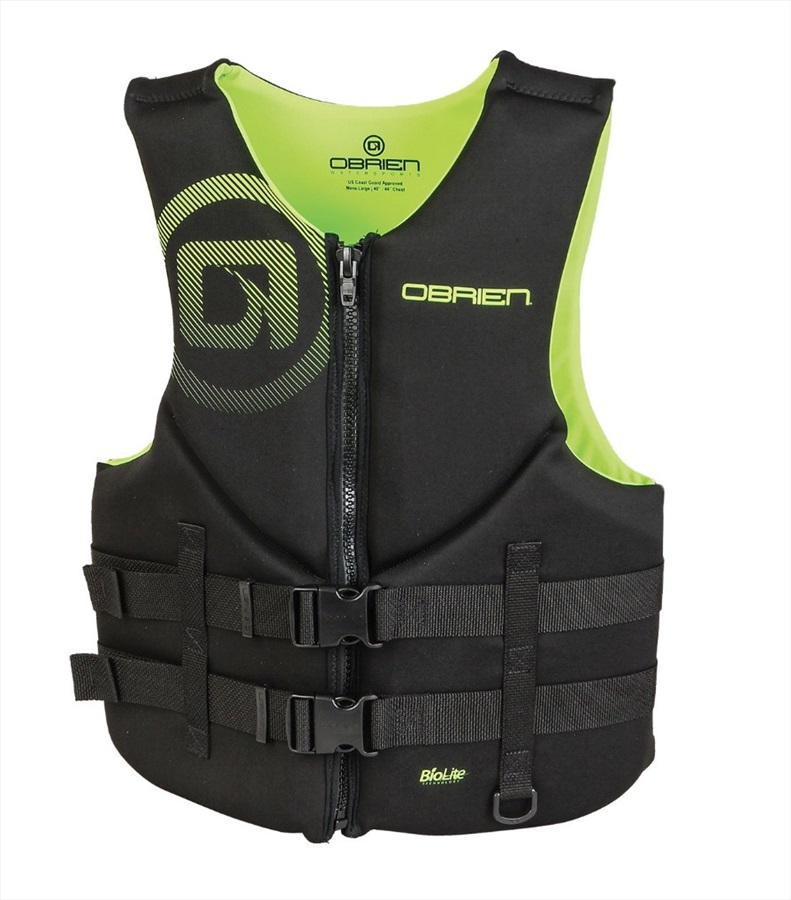 O'Brien Traditional Watersports Impact Buoyancy Aid, S Yellow