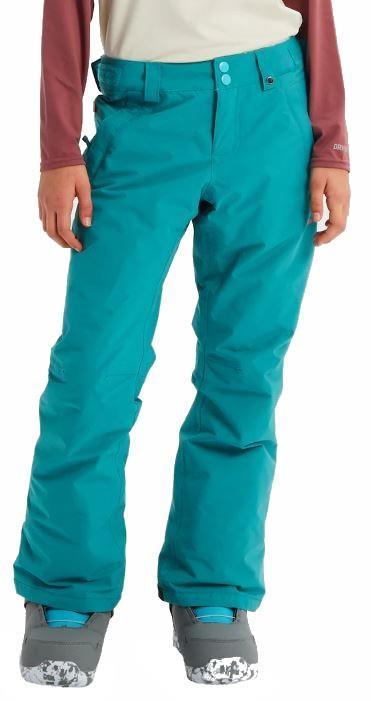 Burton Sweetart Pants Girl's Ski/Snowboard Trousers, XS Green Blue