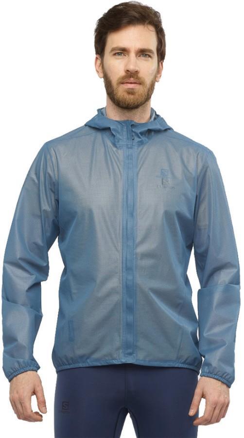 Salomon Bonatti Race Waterproof Jacket, S Dark Denim