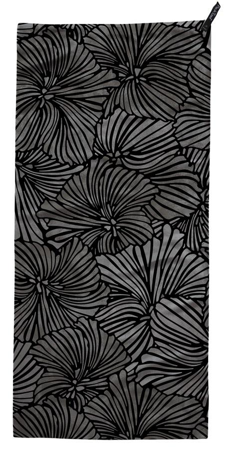PackTowl Ultralite Lightweight Backpacker Towel, Hand, Bloom Noir