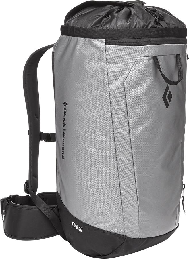 Black Diamond Crag 40 Backpack S-M Climbing Gear Bag, 38L Nickel
