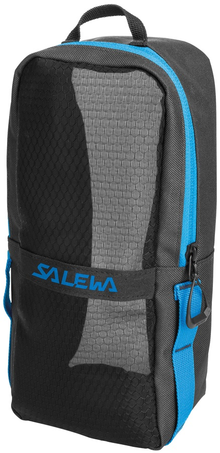 Salewa Gear Bag Crampon Storage Pack 27x12x9cm Black