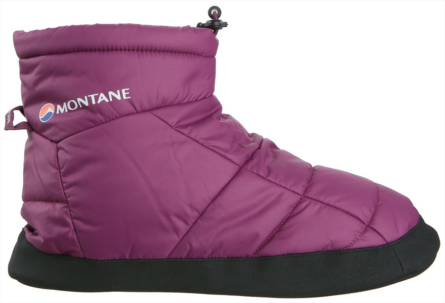 Montane Prism Bootie Insulated Camping Slippers, M Dahlia