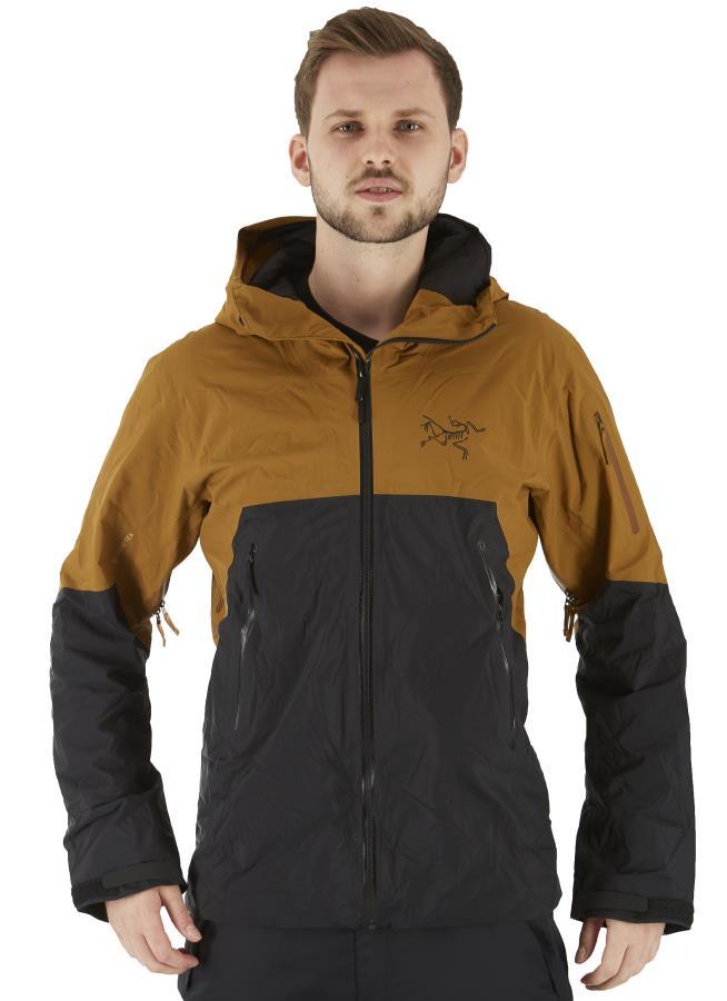 Arcteryx Rush IS Insulated Ski/Snowboard Jacket, S 24K Black