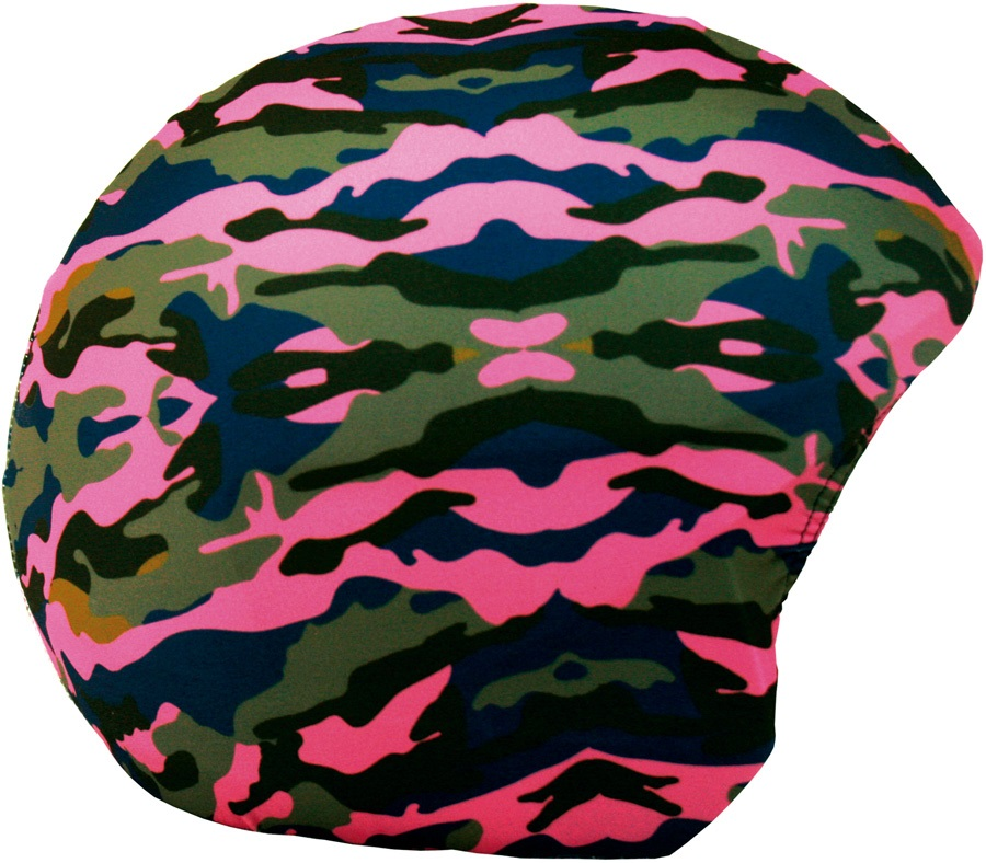 Coolcasc Printed Cool Ski/Snowboard Helmet Cover, Camouflage