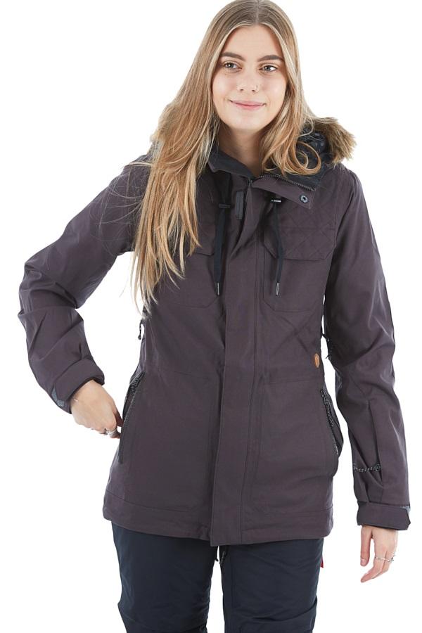 Volcom Shadow Insulated Women's Ski/Snowboard Jacket S Vintage Black
