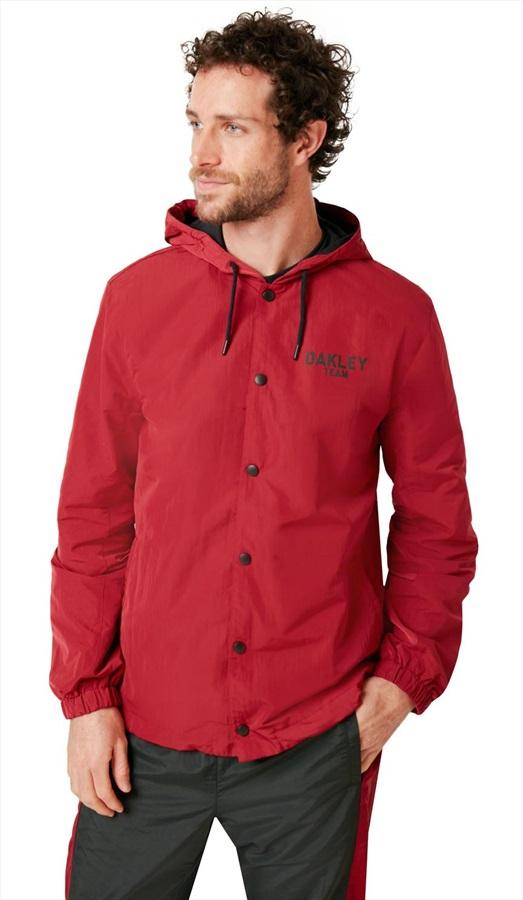 Oakley 75 Hoodie Ski/Snowboard Coach Jacket, L Raspberry