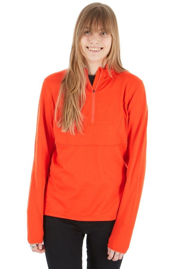 Montane Sirenik Pull-On Women's Stretch Fleece Jacket, M Orange