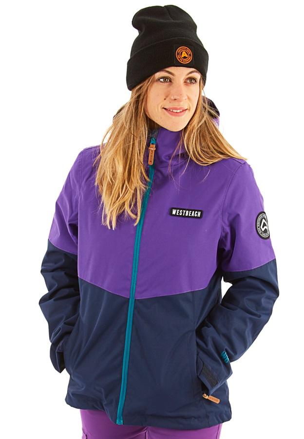 Westbeach Dover Women's Ski/Snowboard Jacket, XS Grapes