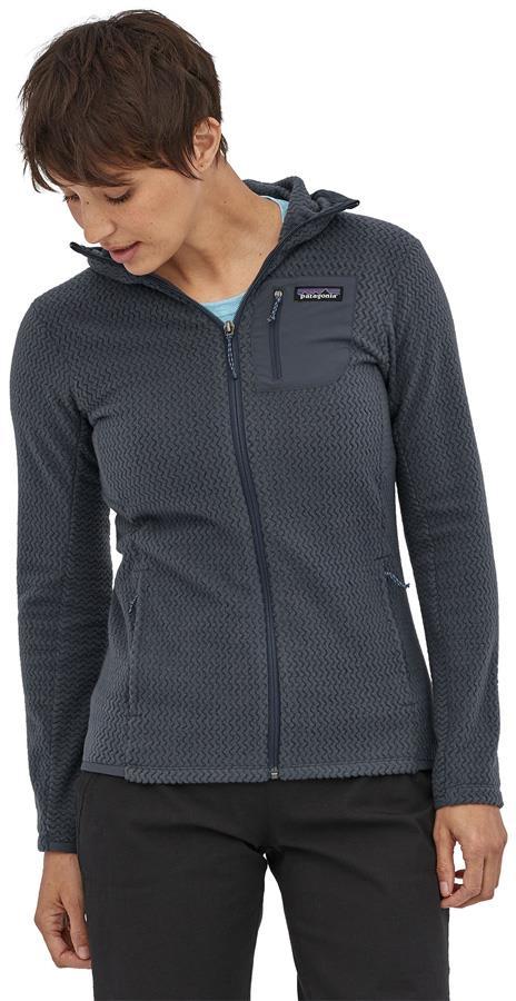 Patagonia R1 Air Full-Zip Fleece Jacket, UK 14 Smolder Blue