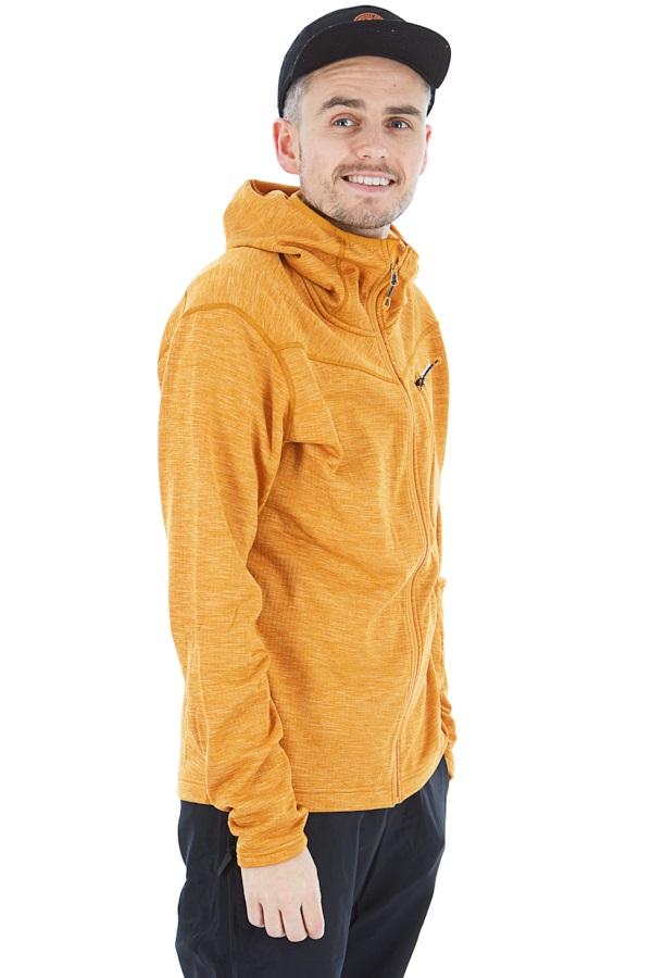 Montane Adult Unisex Protium Full-Zip Fleece Hoodie, S Inca Gold