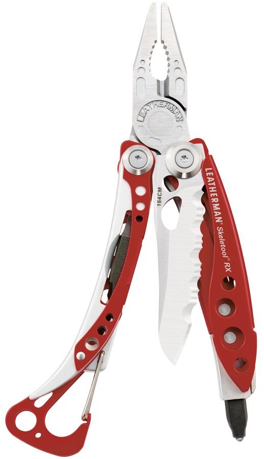 Leatherman Skeletool RX EMS Multi Tool, 7 Red Cerakote