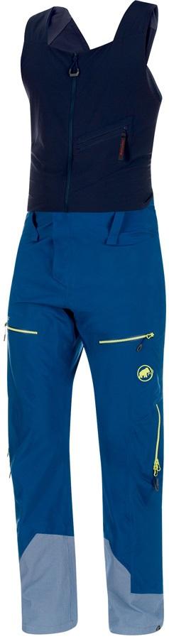 Mammut Alvier Gore Tex Pro HS Ski/Snowboard Bib Pants, S Ultramarine