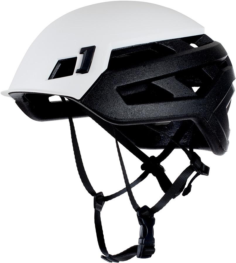 Mammut Wall Rider Rock Climbing Helmet, 52-57cm White
