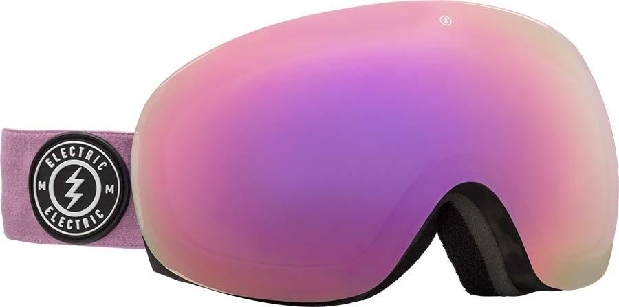 Electric EG3.5 Brose/Red Chrome Snowboard/Ski Goggles, M/L Tort Mauve