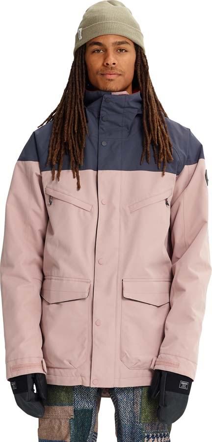 Burton Breach Ski/Snowboard Jacket, XL Fawn