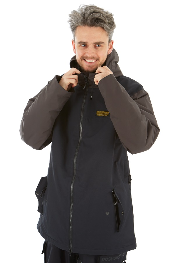 Airblaster Men's Toaster Ski/Snowboard Jacket, L Black