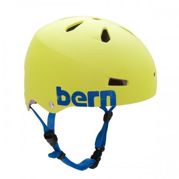 Bern Macon H2O Watersports Helmet, XL Matt Neon Yellow