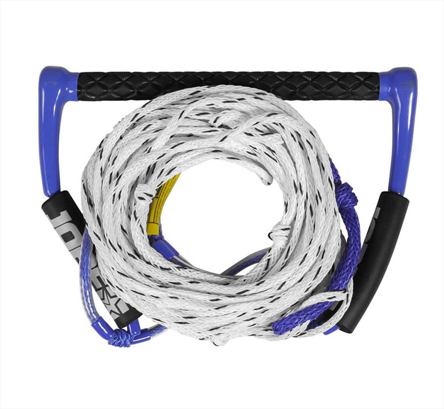 "Jobe 15"" Easy Up Deluxe Water Ski Rope| Handle, Deep V Blue 2021"