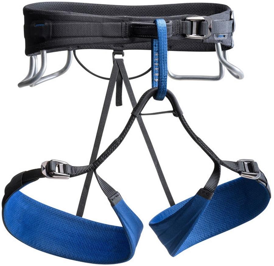 Black Diamond Adult Unisex Technician Rock Climbing Harness, XL Denim