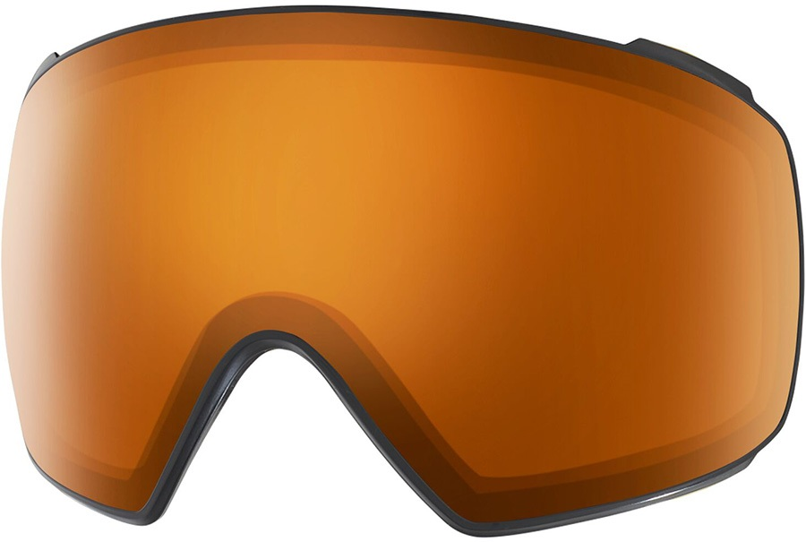 Anon M4 Toric Ski/Snowboard Goggle Spare Lens, One Size Amber