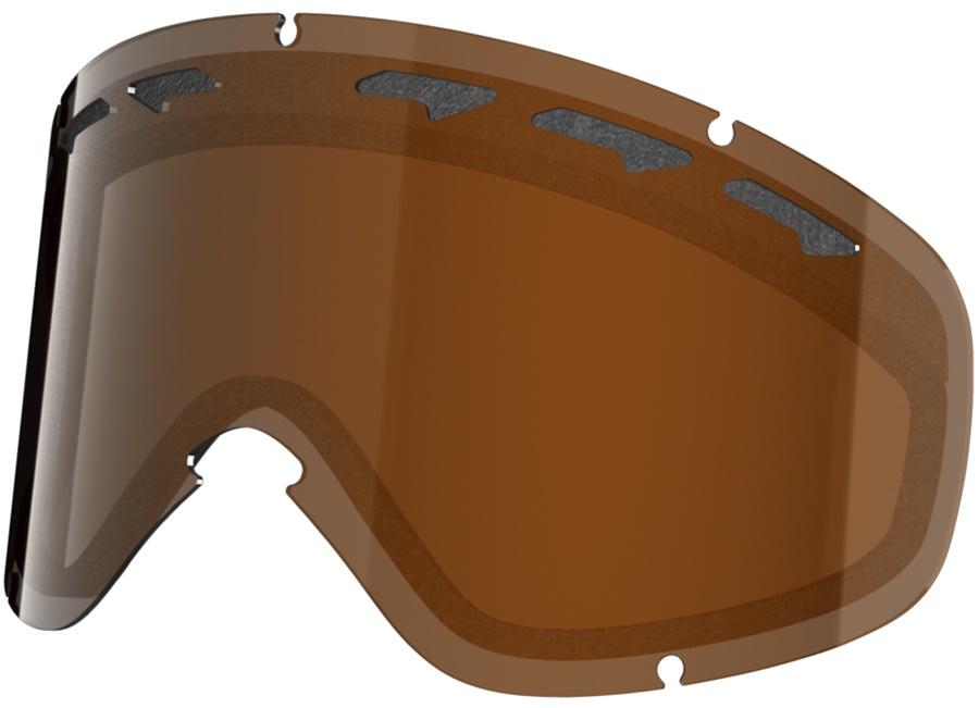 Oakley O2 XS Snowboard/Ski Goggle Spare Lens, One Size, Black Iridium